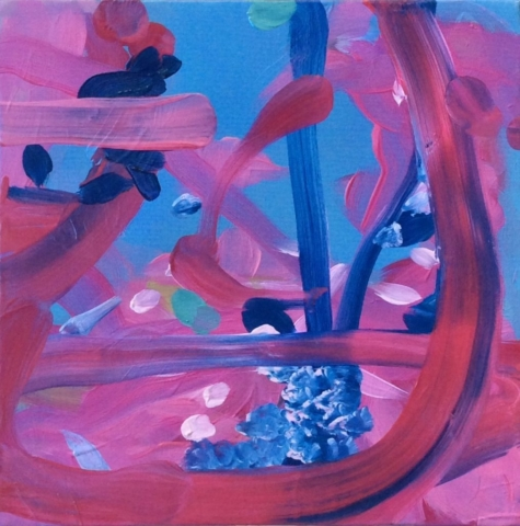 Elisa Muliere, painting, pittura, oil painting, abstract painting, astrazione, abstraction